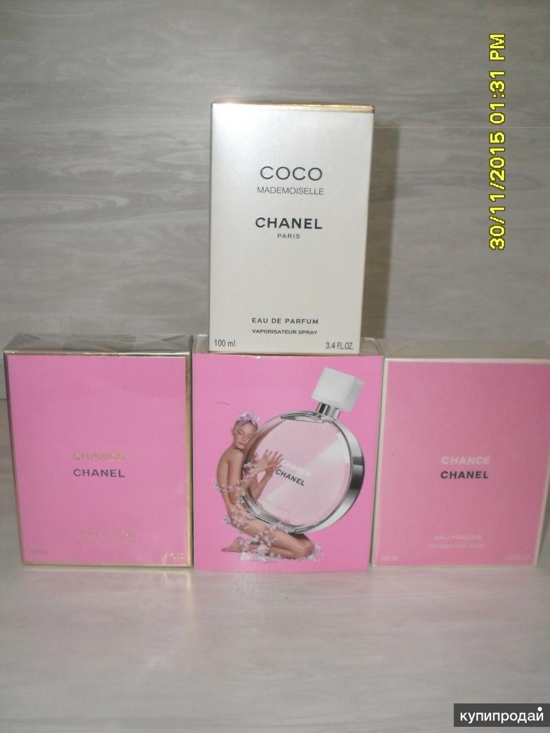 Chanel ( Шанель ) и другие ароматы в наличии