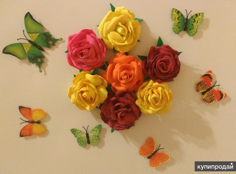 Магниты в форме розы