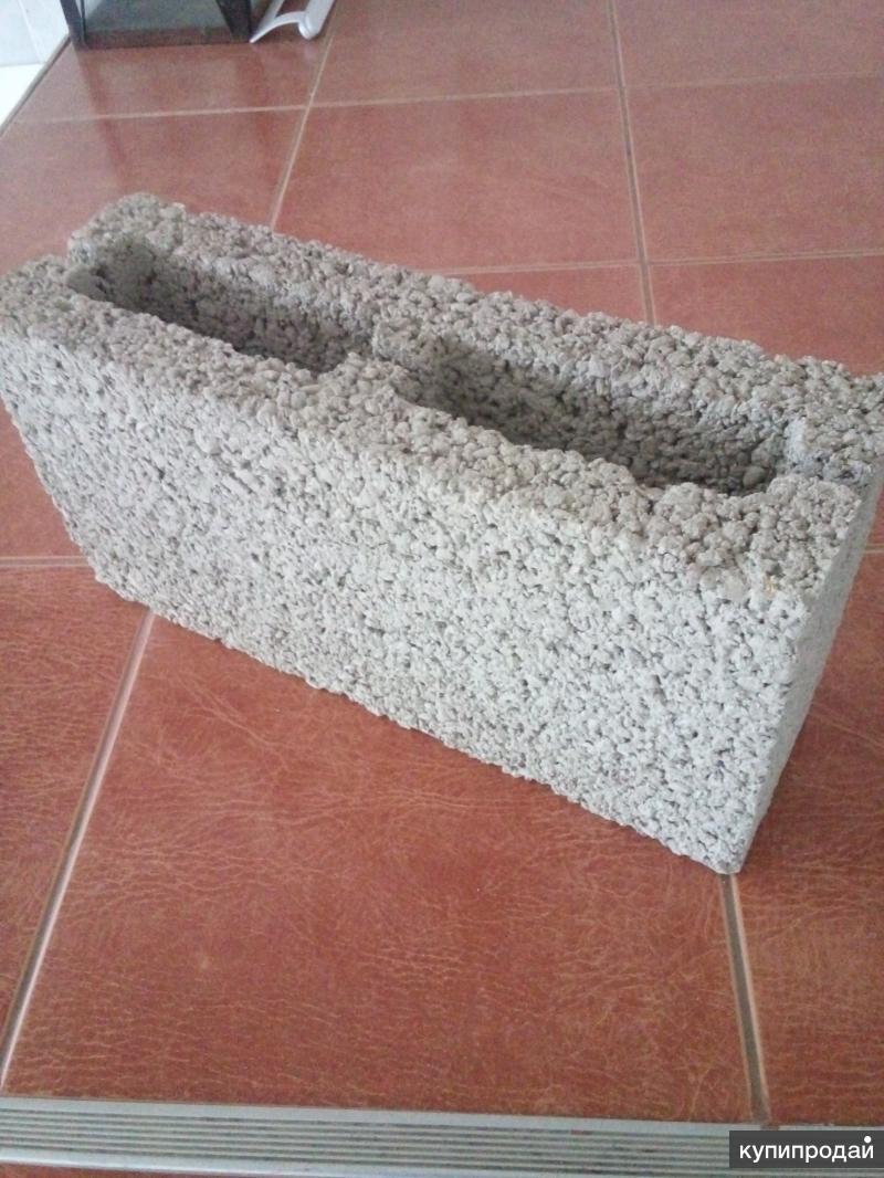 Блоки строительные собственного производства