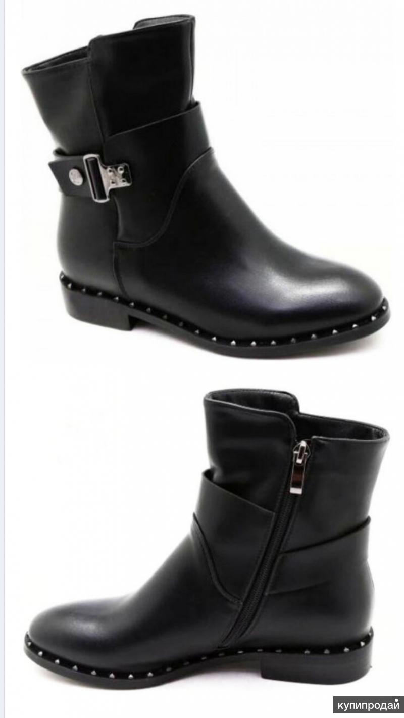 Продам новые ботинки демисезон