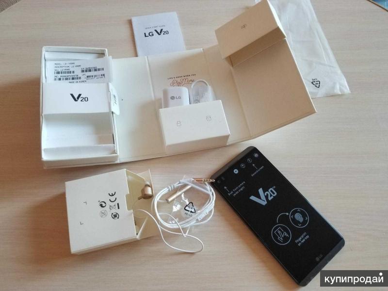 LG V20 64gb новый в плёнках