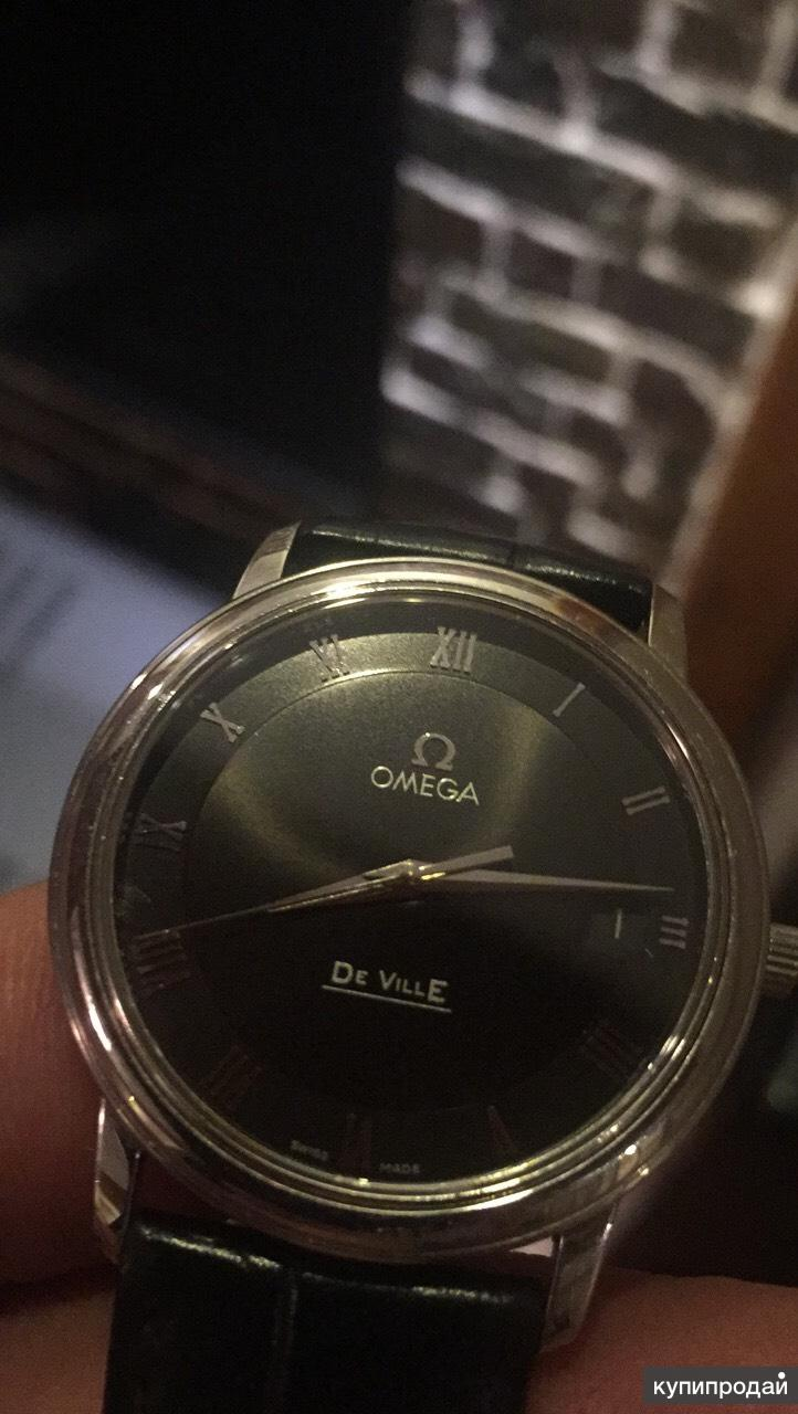 Часы кварц Omega De Ville