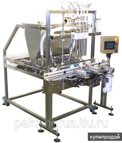 Дозатор поршневой  4-12 головочный автомат аппарат розлива