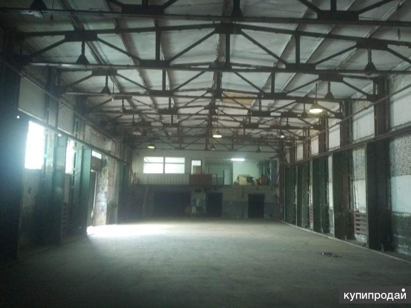 Сдаю склад в Терновке 840 м2 в с кран балкой