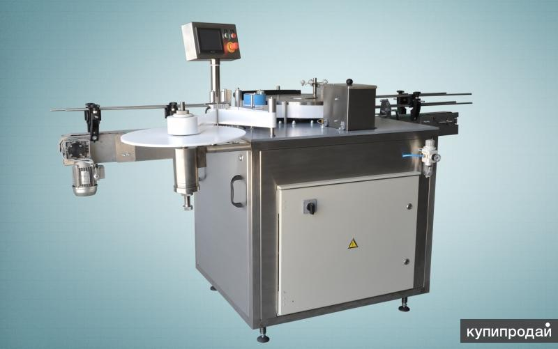 Этикетировщик автомат на полипропиленовую этикетку горячий клей