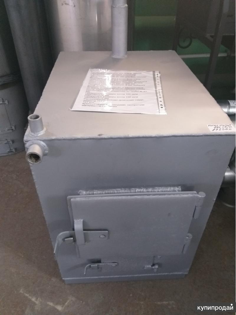 Котел отопительный дровяной-160