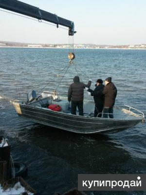 Алюминиевый катер для ловли рыбы F 50 фиш бот