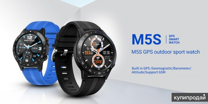 Новые смарт часы M5S