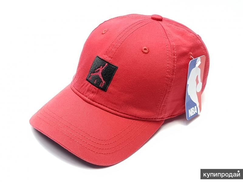 Бейсболка мужская Jordan Air NBA (красный)