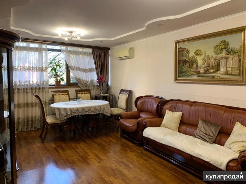 2-к квартира в Сердце Сочи с ремонтом мебелью и техникой !