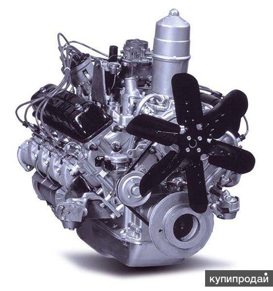 Двигатель змз-5234, заводская комплектация