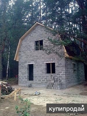 Арболит - экологичный легкий бетон.