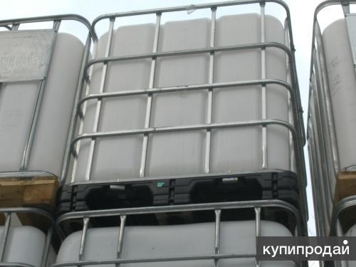 Еврокубы 1000 литров (кубы) б у бочки пластиковые