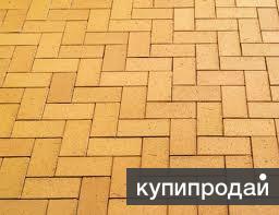 .Плитка тротуарная вибро-литая