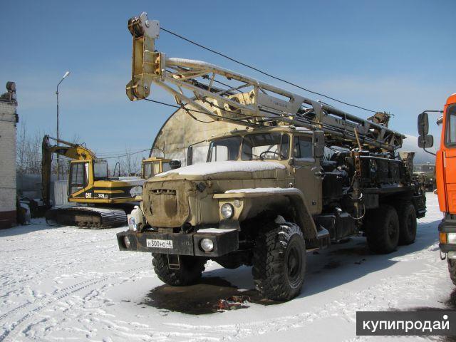 УБВ-224. Буровая установка.