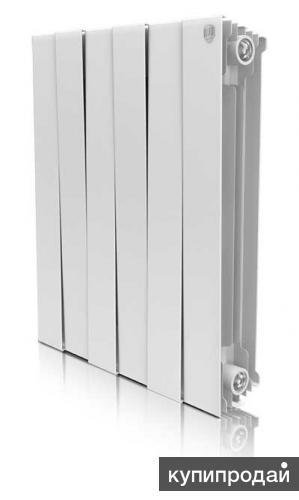 Установка Биметаллических радиаторов отопления.