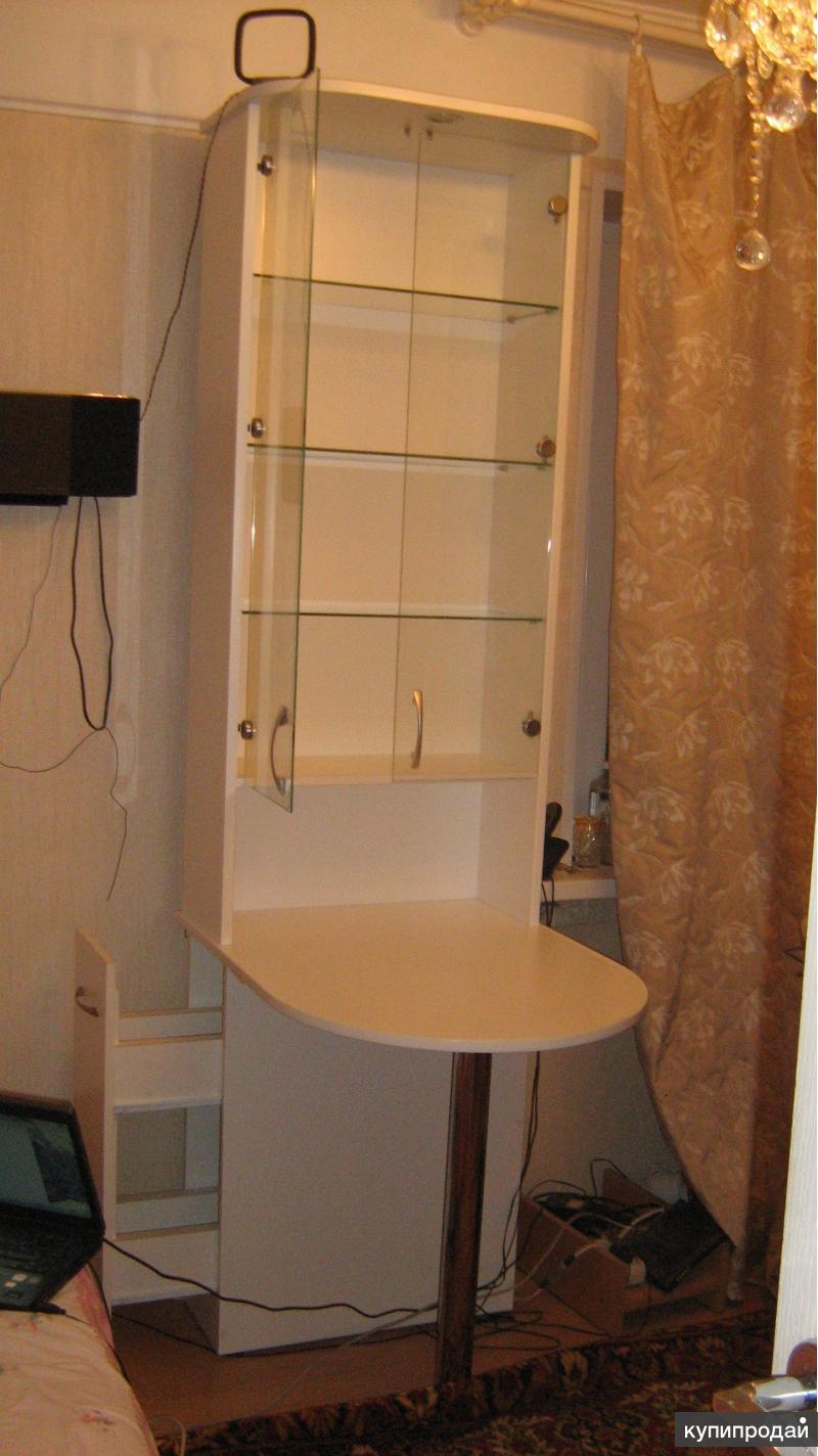 Шкафчик со столиком санкт-петербург.