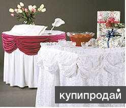 Скатерти, салфетки, чехлы на стулья для Вашего праздника, банкета, фуршета