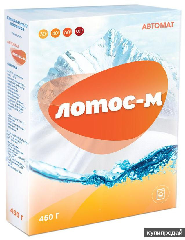 """Стиральный порошок """"Лотос-М"""", 450 гр, 20 кг."""