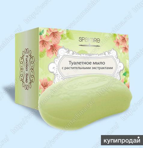 Туалетное мыло с растительными экстрактами