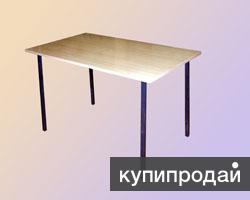 Стол на металлокаркасе. Доставка бесплатно по России