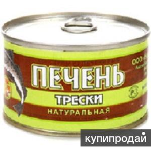 """Продам оптом: Печень Трески натуральная """"Норд Фиш"""""""