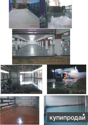 Промышленный бетонный и полимерный пол.