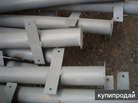 Столбы металлические для ограждения