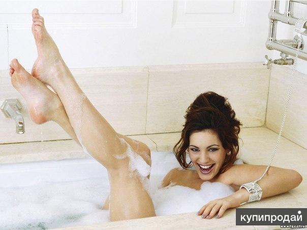 фото тети в ванной