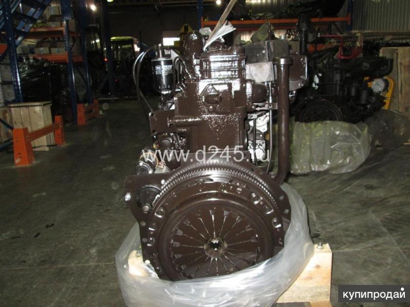 Двигатель ГАЗ-3309 с компрессором и генератором Д245.7Е2-842