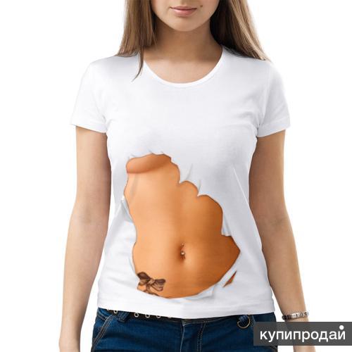 Голые женские футболки