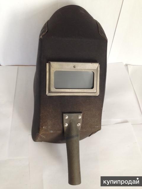 Щиток сварщика из электрокартона с ручкой