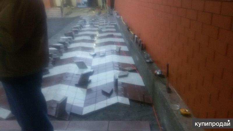 Тротуарное плитка.
