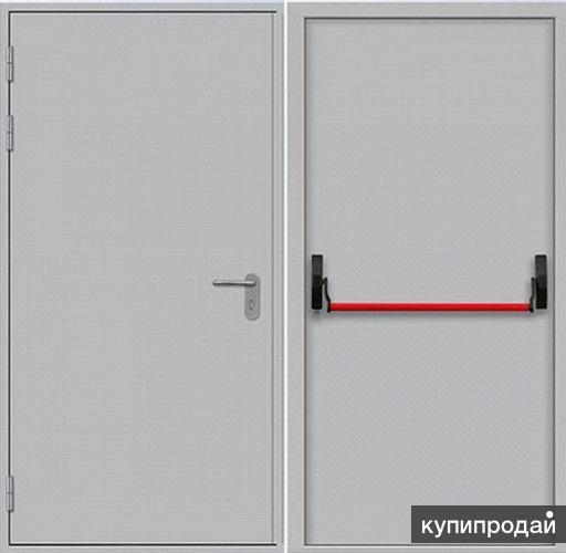 железные двери противопожарние