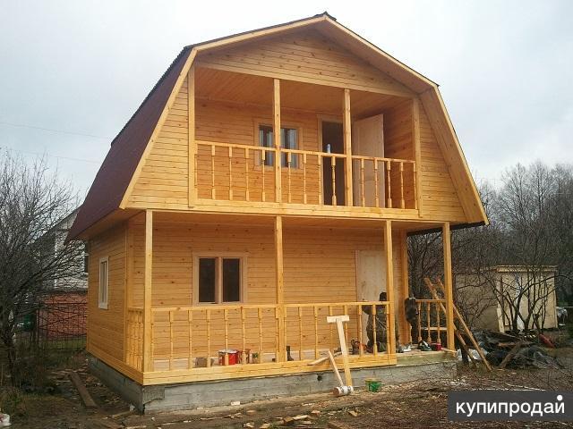 Производим и устанавливаем Каркасно-щитовой дом