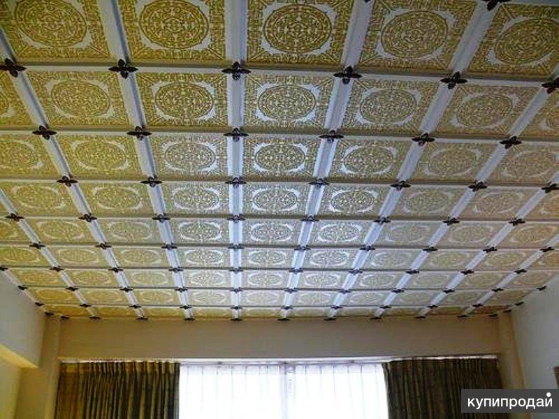 Как положить плитку на потолок: пвх, бесшовную или полистиро.