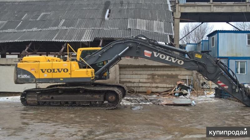 Гидравлический экскаватор Volvo EC 360B LC