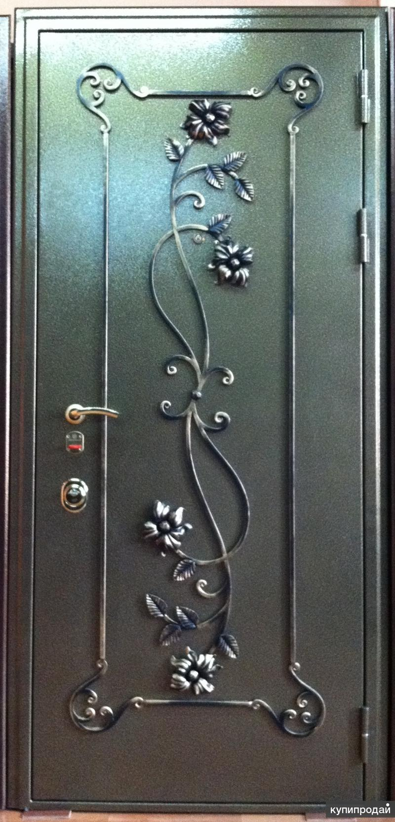 железный двери кованый
