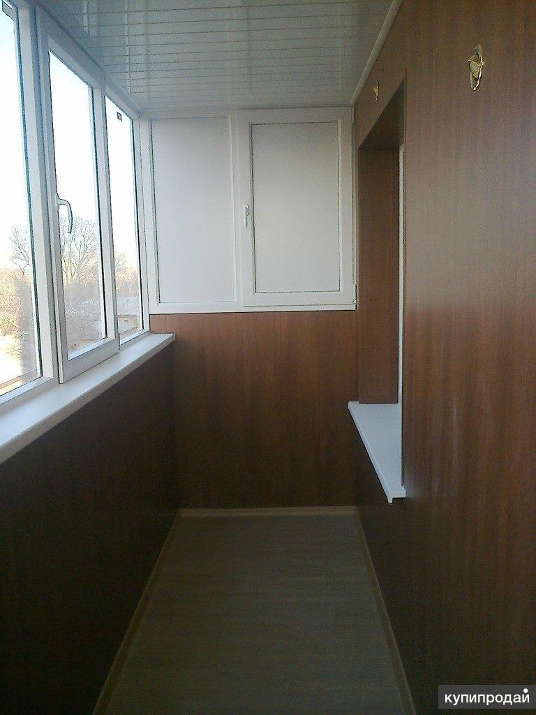 Отделка ламинатом балконов - строительство / ремонт / уборка.