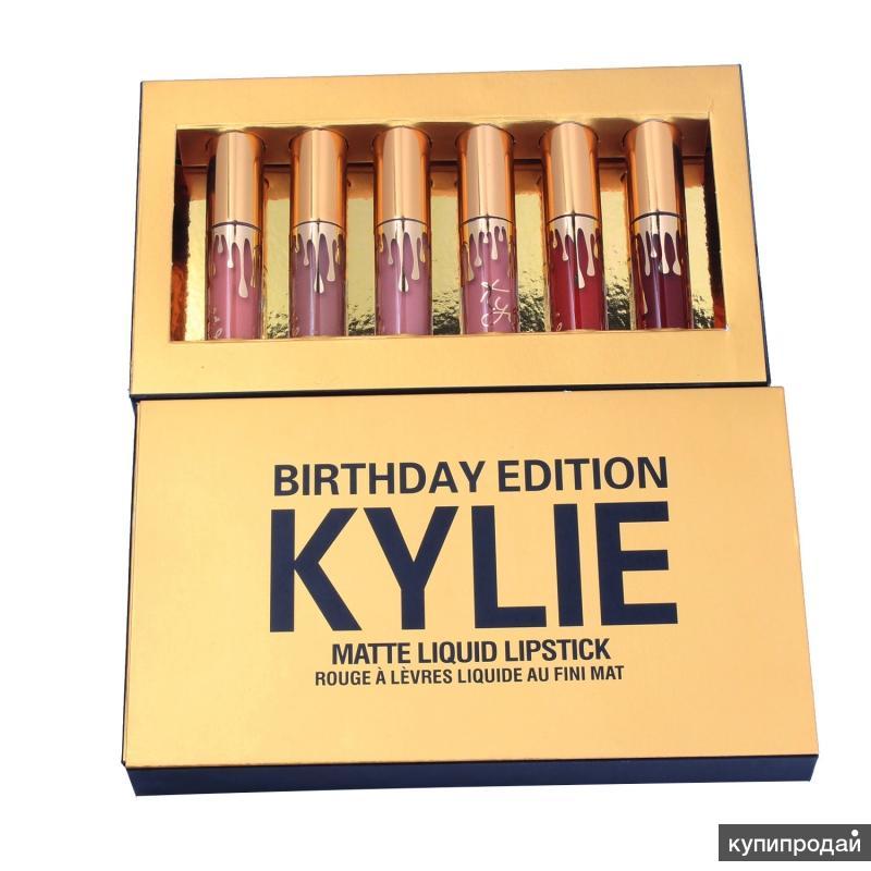 Матовая помада Kylie birthday edition
