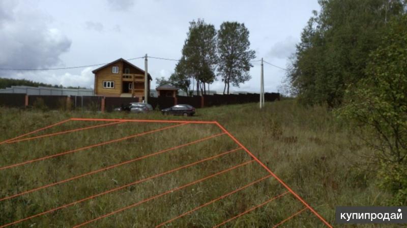 Участок 12 соток в деревне Башкардово 89 км от МКАД