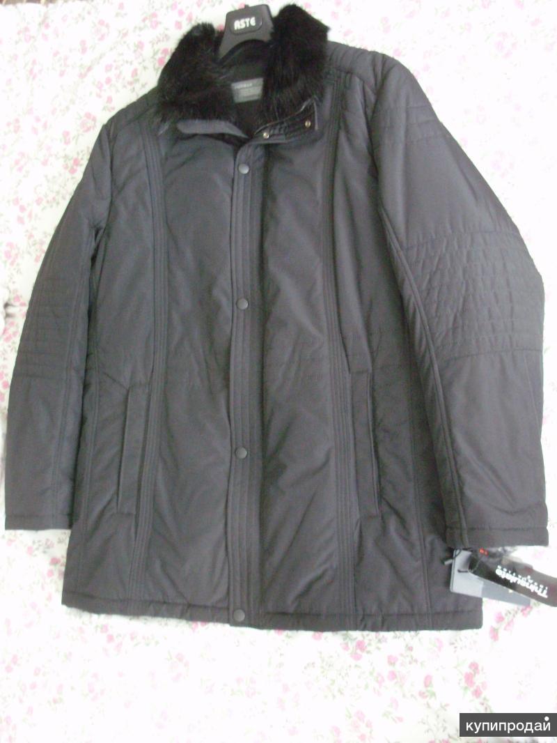 Куртка мужская зимняя новая. Размер 58