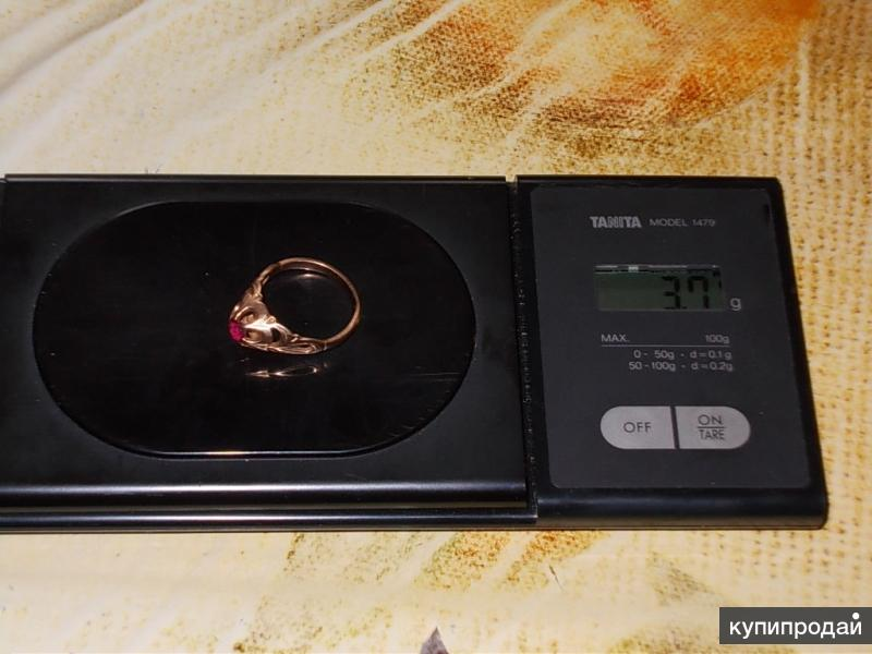 Украшение кольцо золото 583