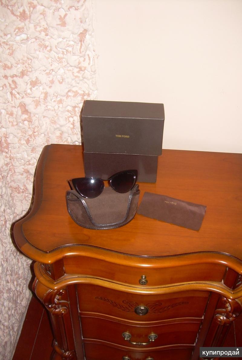 Новые модные солнцезащитные очки Tom Ford