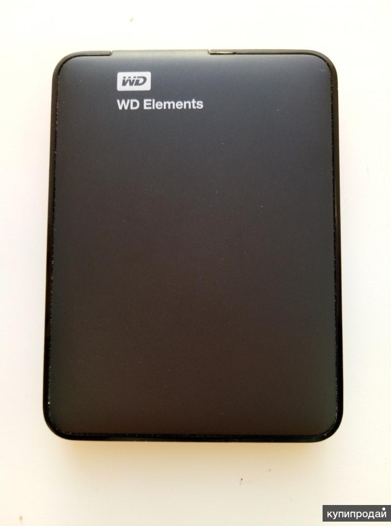 Внешний жесткий диск WD Elements