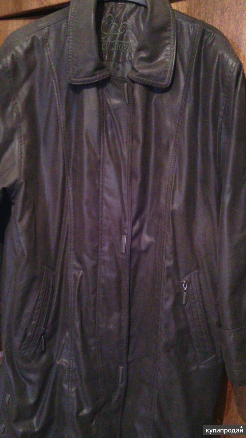 куртка жен 50 52 удлин на весну,осень