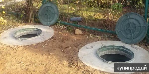Монтаж канализаций под ключ из бетонных колец в спб и ленинградской области!