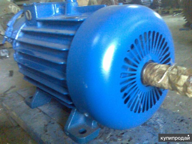 Электродвигатели асинхронные однофазные, трех фазные, промышленные, крановые.