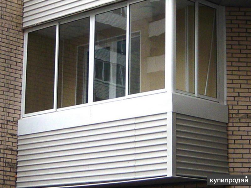 Раздвижные рамы на г-образный балкон - окна и балконы.