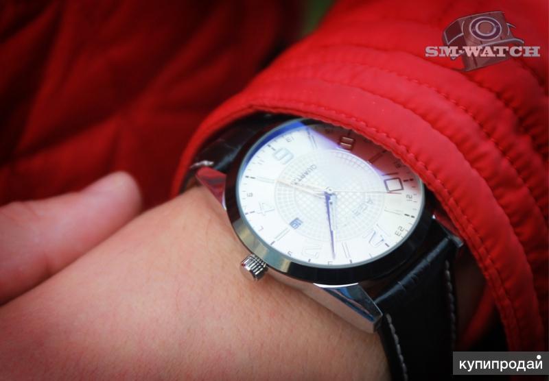 """Стильные мужские кварцевые часы """"Агент X"""""""